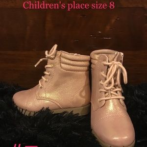 New with tags children's place size 8 boots